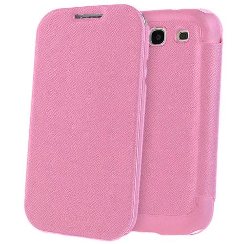 Чехол Mercury Fancy Diary FlipStyle для Samsung Galaxy S3 РозовыйЧехлы для Samsung Galaxy<br>С Mercury Fancy Diary FlipStyle вашему смартфону не страшны неприятности!<br><br>Цвет товара: Розовый<br>Материал: Пластик, кожа