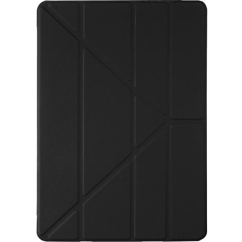 Чехол Pipetto Origami для iPad 9.7 (2017/2018) чёрныйЧехлы для iPad 9.7<br>Pipetto Origami — элегантный и минималистичный чехол.<br><br>Цвет: Чёрный<br>Материал: Поликарбонат, полиуретановая кожа