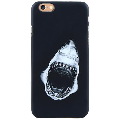 Чехол iPapai для iPhone 7 «Mens Choice» (Акула)Чехлы для iPhone 7/7 Plus<br>Креативный чехол iPapai с уникальным дизайнерским принтом — превосходная комбинация стиля и надежности.<br><br>Цвет товара: Чёрный<br>Материал: Пластик
