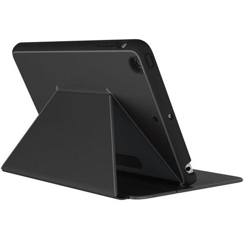 Чехол Speck DuraFolio для iPad Mini 4 чёрныйЧехлы для iPad mini 4<br>Чехол Speck DuraFolio - тонкий защитный чехол для iPad Mini 4.<br><br>Цвет товара: Чёрный<br>Материал: Поликарбонат, полиуретан