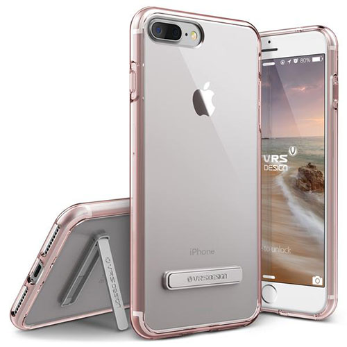 Чехол Verus Crystal Mixx для iPhone 7 Plus (Айфон 7 Плюс) розовое золото (VRIP7P-CMXRG)
