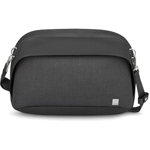 Сумка Moshi Tego Sling Messenger для MacBook 13 чёрнаяСумки для ноутбуков<br>Минималистичная Moshi Tego Sling Messenger совмещает в себе непревзойдённый стиль и функциональность!<br><br>Цвет товара: Чёрный<br>Материал: Влагоотталкивающая ткань, цинковый сплав (фурнитура)