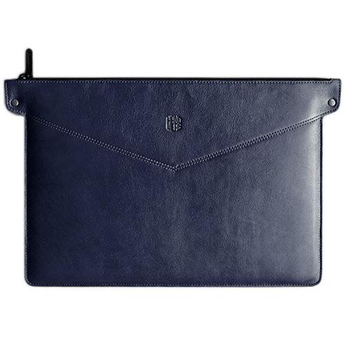 Сумка Handwers Bering для MacBook 11 синяяЧехлы для MacBook Air 11<br>Сумка Handwers Bering для ноутбуков 11 Синий<br><br>Цвет товара: Синий<br>Материал: Натуральная кожа, войлок
