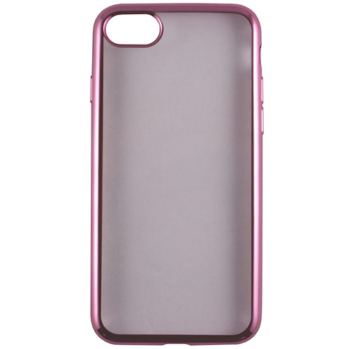 Чехол Red Line iBox Blaze для iPhone 7 Plus розовыйЧехлы для iPhone 7/7 Plus<br>Стильный чехол Red Line iBox Blaze с эффектом металлических граней для iPhone 7 Plus.<br><br>Цвет товара: Розовый<br>Материал: Силикон
