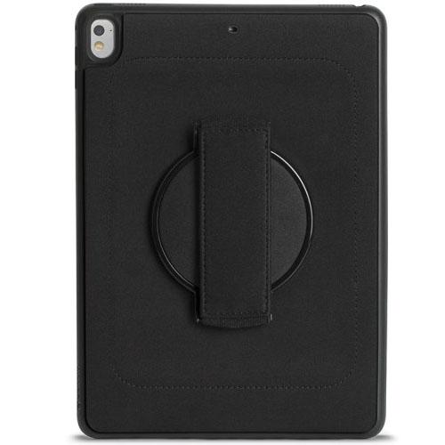 Чехол Griffin AirStrap 360 для iPad Pro 9.7 и iPad Air 2Чехлы для iPad Pro 9.7<br>Чехол Griffin AirStrap 360 для iPad Pro 9.7 и iPad Air 2 черный<br><br>Цвет товара: Чёрный<br>Материал: Пластик, неопрен, резина