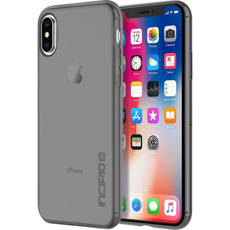 Чехол Incipio NGP Pure для iPhone X дымчатыйЧехлы для iPhone X<br>Чехол изготовлен из гибкого, абсорбирующего материала Flex2O™ с шелковистой полупрозрачной поверхностью.<br><br>Цвет товара: Серый<br>Материал: Термопластичный полиуретан