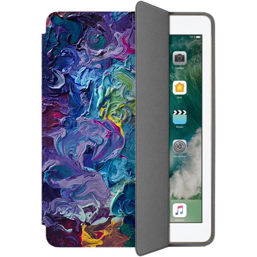 Чехол Muse Smart Case для iPad 9.7 (2017/2018) ПалитраЧехлы для iPad 9.7<br>Чехлы Muse — это индивидуальность, насыщенность красок, ультрасовременные принты и надёжность.<br><br>Цвет: Разноцветный<br>Материал: Эко-кожа, поликарбонат