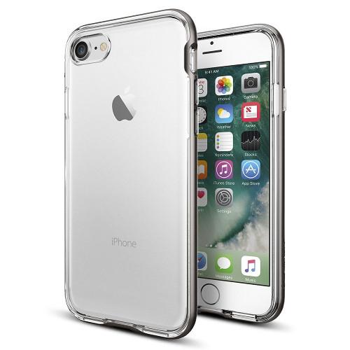 Чехол Spigen Neo Hybrid Crystal для iPhone 7 (Айфон 7) тёмный металлик (SGP-042CS20522)Чехлы для iPhone 7/7 Plus<br>Чехол Spigen Neo Hybrid Crystal для iPhone 7 (Айфон 7) тёмный металлик (SGP-042CS20522)<br><br>Цвет товара: Серый<br>Материал: Поликарбонат, полиуретан