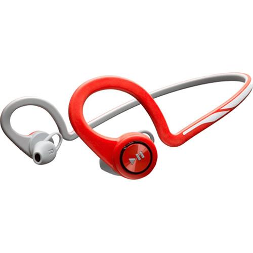 Беспроводные наушники Plantronics BackBeat Fit красныеВнутриканальные наушники<br>Наушники Plantronics BackBeat Fit Red<br><br>Цвет товара: Красный<br>Материал: Пластик, нанопокрытие P2i