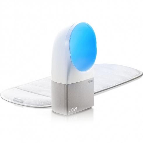 Система контроля и улучшения качества сна Nokia (Withings) AuraЗдоровый сон<br>Система для контроля сна Withings Aura<br><br>Цвет товара: Белый<br>Материал: Пластик, текстиль