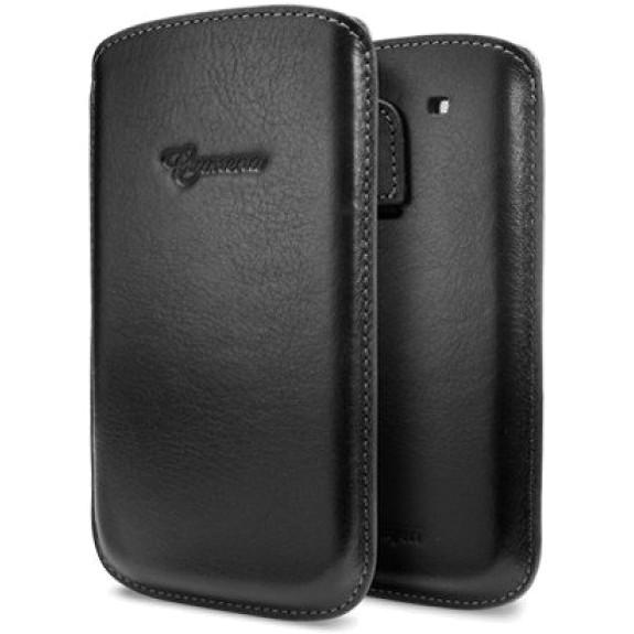 Кожаный чехол Spigen SGP Crumena Leather для Samsung Galaxy S3 Vegetable Black (SGP09180)Чехлы для Samsung Galaxy<br>Стиль и высокое качество являются отличительными признаками этого футляра.<br><br>Цвет: Чёрный<br>Материал: Кожа, текстиль