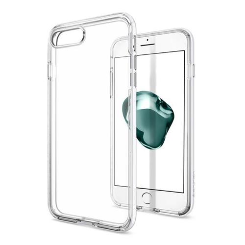 Чехол Spigen Neo Hybrid Crystal для iPhone 7 Plus (Айфон 7 Плюс) ультрабелый (SGP-043CS21045)Чехлы для iPhone 7 Plus<br>Чехол Spigen для iPhone 7 Plus Neo Hybrid Crystal ультра-белый (043CS21045)<br><br>Цвет товара: Белый<br>Материал: Поликарбонат, полиуретан