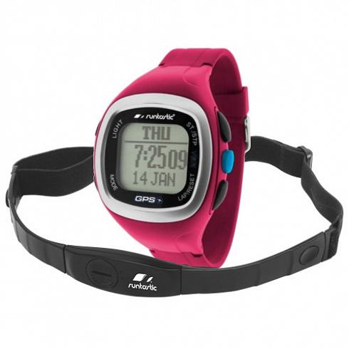 Часы Runtastic с GPS и кардиодатчиком Runtastic Heart Rate Monitor розовые от iCases
