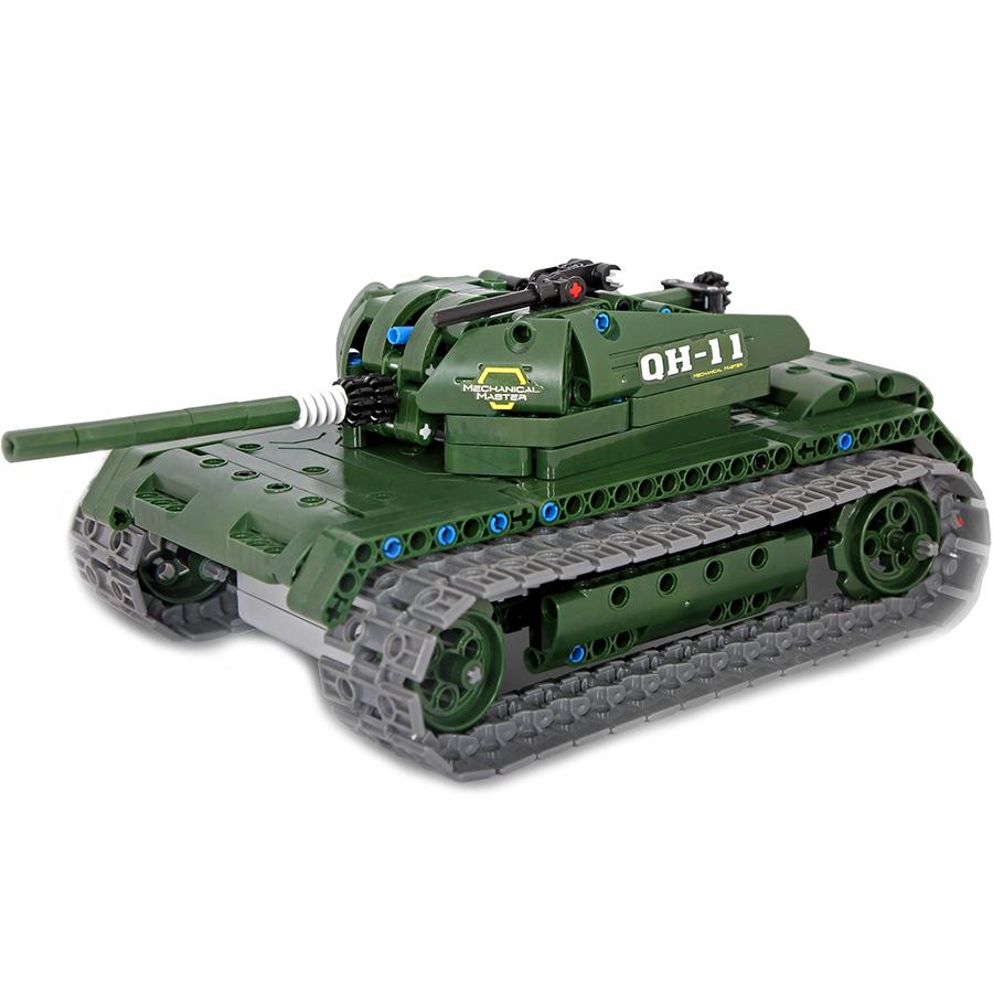Игрушка конструктор EvoPlay Battle Tank (CM-202)3D пазлы и конструкторы<br>Игрушка конструктор Evoplay CM-202 Battle Tank (453 дет)<br><br>Цвет: Зелёный<br>Материал: Пластик