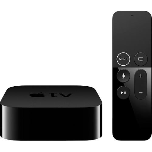 Телевизионная приставка Apple TV 4K 32 ГбAppleTV и Chromecast<br>На Apple TV 4K фильмы и любимые сериалы смотрятся ещё лучше.<br><br>Цвет товара: Чёрный<br>Материал: Пластик<br>Модификация: 32 Гб