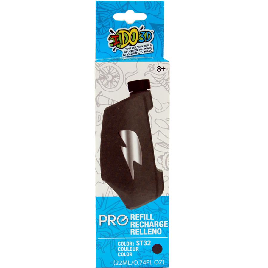Картридж для 3D ручки IDO3D Vertical Pro серыйНаборы пластика и аксессуары<br>Благодаря IDO3D Vertical Pro профессиональные художники, дизайнеры и архитекторы смогут открыть для себя совершенно новые способы творчества и ра...<br><br>Цвет товара: Серый<br>Материал: PLA пластик