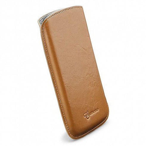 Чехол SGP Crumena Leather Case для Samsung Galaxy Nexus Коричневый (SGP08653) от iCases