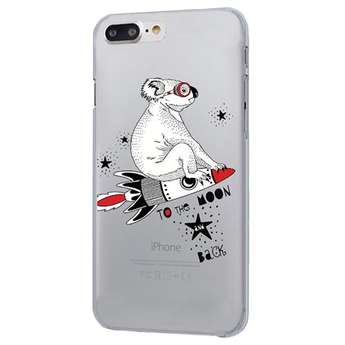 Чехол iPapai для iPhone 7 Plus «Sketch Animals» (Коала)Чехлы для iPhone 7/7 Plus<br>Креативный силиконовый чехол iPapai с уникальным дизайнерским принтом для iPhone 7 Plus.<br><br>Цвет товара: Разноцветный<br>Материал: Силикон