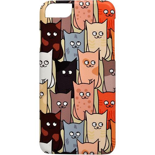 Чехол iCover Cats Comics 03 для iPhone 7 (Айфон 7)Чехлы для iPhone 7/7 Plus<br>Чехол iCover для iPhone 7 Cats Comics 03<br><br>Цвет товара: Разноцветный<br>Материал: Поликарбонат, силикон
