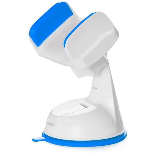Автомобильный держатель Silicone Sucker 360 синийАвтодержатели<br>Надёжный и компактный автодержатель Silicone Sucker 360.<br><br>Цвет товара: Синий<br>Материал: Пластик, силикон