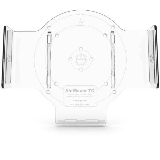 Держатель H-squared AirMount BackLight для Apple Time CapsuleБеспроводное оборудование<br>С H-squared AirMount BackLight эксплуатация точки доступа станет удобнее и приятнее!<br><br>Цвет товара: Прозрачный<br>Материал: Поликарбонат