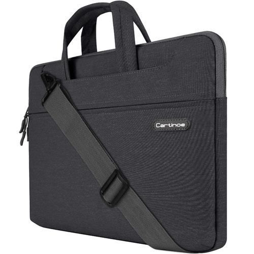 Сумка Cartinoe Starry Series для MacBook 13 чёрнаяСумки для ноутбуков<br>Cartinoe Starry Series - стильная и удобная сумка.<br><br>Цвет товара: Чёрный<br>Материал: Текстиль