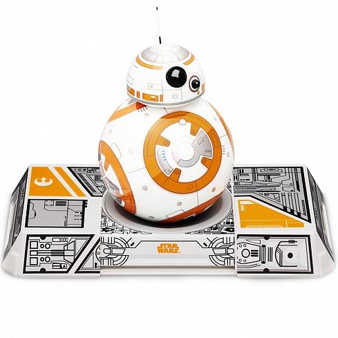 Робот Sphero Orbotix BB-8 StarWars Droid with TrainerРоботы<br>Робот Orbotix Sphero BB-8 StarWars Droid with Trainer<br><br>Цвет: Белый<br>Материал: Пластик, металл<br>Модификация: BB-8 with Trainer