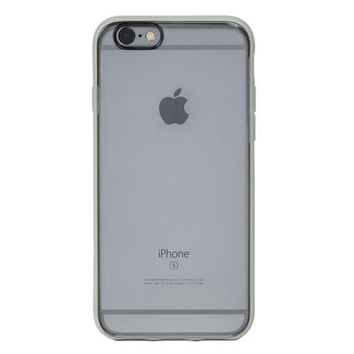 Чехол Incase Pop Case для iPhone 6/6s Прозрачный/серыйЧехлы для iPhone 6/6s<br>Чехол Incase Pop Case для iPhone 6/6s : прозрачный/серый<br><br>Цвет товара: Белый<br>Материал: Пластик, резина