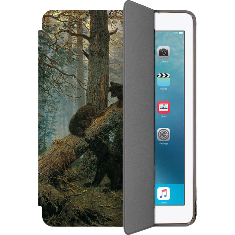 Чехол Muse Smart Case для iPad Pro (10.5) МишкиЧехлы для iPad Pro 10.5<br>Чехлы Muse Smart Case — это индивидуальность, насыщенность красок, оригинальные принты и надёжная защита от повреждений.<br><br>Цвет: Коричневый<br>Материал: Поликарбонат, полиуретановая кожа