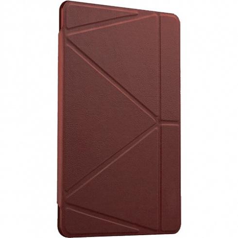 Чехол Gurdini Flip Cover для iPad mini 4 коричневыйЧехлы для iPad mini 4<br>Чехол Gurdini для iPad mini 4 коричневый<br><br>Цвет товара: Коричневый<br>Материал: Искусственная кожа, пластик