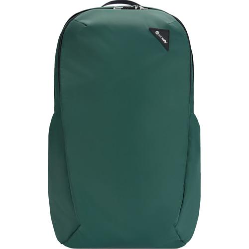 Рюкзак PacSafe Vibe 25 (Forest/Лес) зелёныйРюкзаки<br>Объём вместительного Pacsafe Vibe 25 составляет 25 литров, что позволит вам уместить в рюкзак много предметов.<br><br>Цвет товара: Зелёный<br>Материал: Текстиль, нержавеющая сталь, пластик