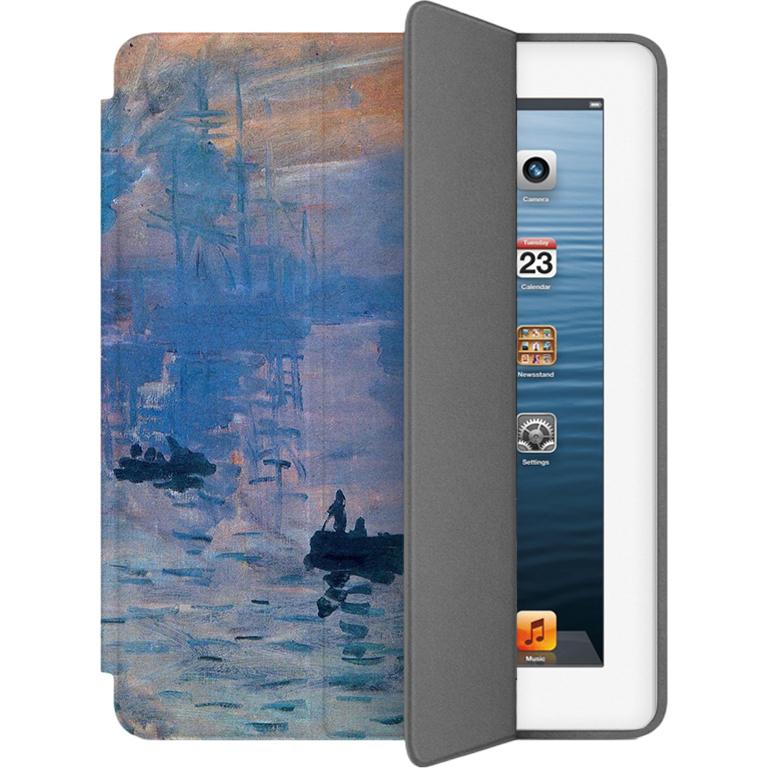 Чехол Muse Smart Case для iPad 2/3/4 Восход СолнцаЧехлы для iPad 1/2/3/4<br>Чехлы Muse — это индивидуальность, насыщенность красок, ультрасовременные принты и надёжность.<br><br>Цвет: Синий<br>Материал: Поликарбонат, полиуретановая кожа