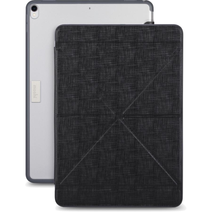 Чехол Moshi VersaCover для iPad Pro 10.5 черныйЧехлы для iPad Pro 10.5<br>Moshi VersaCover отлично защищает планшет от негативных воздействий.<br><br>Цвет товара: Чёрный<br>Материал: Пластик, полиуретан