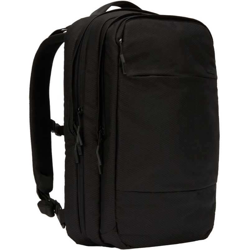Рюкзак Incase City Commuter Backpack with Diamond Ripstop для MacBook 15 чёрный (INCO-100357-BLK)Рюкзаки<br>Этот рюкзак станет надежным и практичным спутником в ваших ежедневных путешествиях, как далеко вы бы ни отправились.<br><br>Цвет: Чёрный<br>Материал: 100% полиэстер