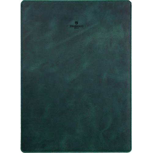Кожаный чехол Stoneguard для MacBook 12 зелёный Grass (511)Чехлы для MacBook 12 Retina<br>Фетровая и кожаная текстуры — классическое сочетание для тех, кто предпочитает благородные, качественные вещи.<br><br>Цвет товара: Зелёный<br>Материал: Натуральная кожа, фетр
