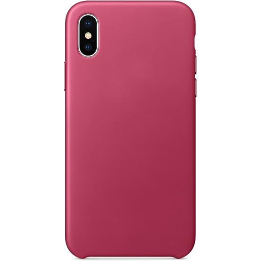 Кожаный чехол YablukCase для iPhone X розовый (Pink Fuchsia)Чехлы для iPhone X<br>Надёжный и легкий YablukCase — это лаконичный и стильный аксессуар для вашего iPhone!<br><br>Цвет: Розовый<br>Материал: Экокожа, пластик