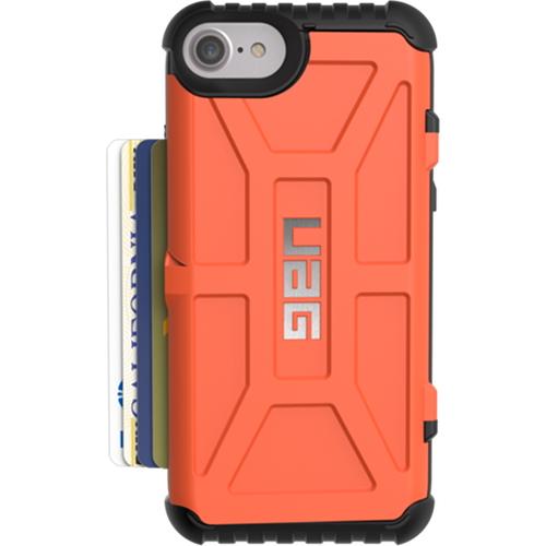 Чехол UAG Trooper Series Case для iPhone 6/6s/7 оранжевыйЧехлы для iPhone 7<br>Чехлы от компании Urban Armor Gear разработаны и спроектированы таким образом, чтобы обеспечить максимальную защиту вашему смартфону, при этом со...<br><br>Цвет товара: Оранжевый<br>Материал: Пластик
