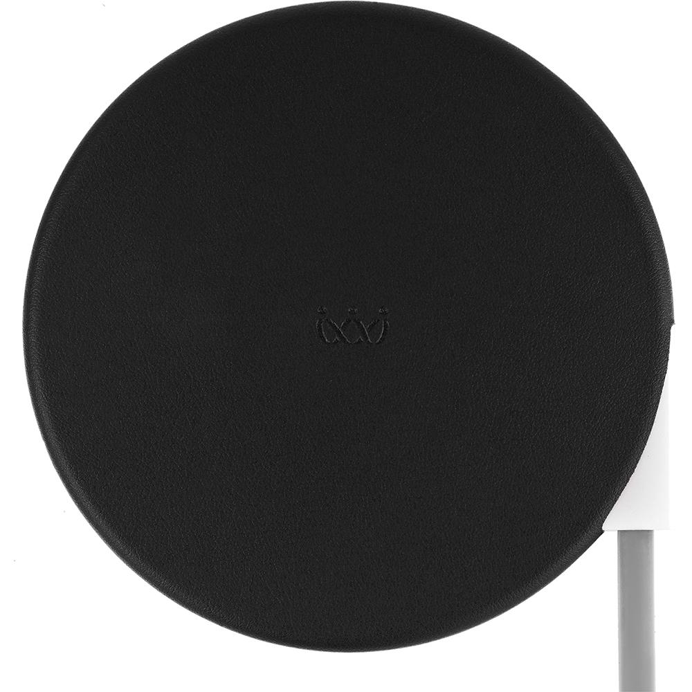 Беспроводное зарядное устройство VLP Wireless Charger 5V (QI) чёрное (WCHB)Сетевые и беспроводные зарядки<br>VLP Wireless Charger поддерживает зарядку на всех 360 градусах своей поверхности.<br><br>Цвет товара: Чёрный<br>Материал: Пластик, эко-кожа, силикон