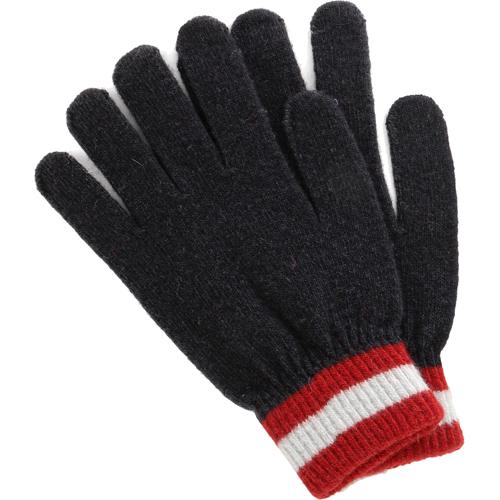 Перчатки iGloves (v22) для iPhone/iPod/iPad/etc тёмно-синие с красными полосками (Размер M)Перчатки для экрана<br>Перчатки iGloves v22 - синие с полосками на манжете<br><br>Цвет товара: Синий<br>Материал: Акрил<br>Модификация: M