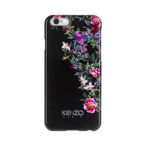 Чехол Kenzo Glossy Exotic для iPhone 6/6S (4,7) чёрныйЧехлы для iPhone 6/6s<br>Чехол KENZO для iPhone 6 Exotic Hard Black<br><br>Цвет товара: Чёрный<br>Материал: Силикон