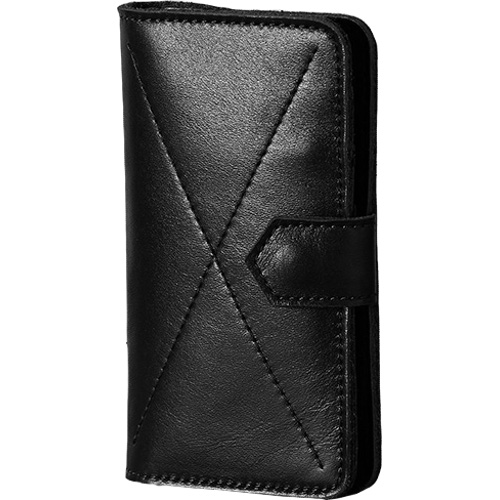 Чехол-бумажник Ray Button Kassel для iPhone 6/6s/7 чёрный