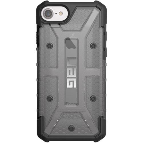 Чехол UAG Plazma Series Case для iPhone 6/6s/7 прозрачно-серый AshЧехлы для iPhone 6/6s<br>Чехлы от компании Urban Armor Gear разработаны и спроектированы таким образом, чтобы обеспечить максимальную защиту вашему смартфону, при этом со...<br><br>Цвет товара: Серый<br>Материал: Пластик