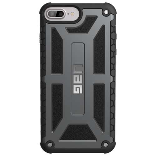 Чехол UAG Monarch Series Case для iPhone 6 Plus/6s Plus/7 Plus графитовыйЧехлы для iPhone 6s PLUS<br>Чехлы от компании Urban Armor Gear разработаны и спроектированы таким образом, чтобы обеспечить максимальную защиту вашему смартфону, при этом со...<br><br>Цвет товара: Серый<br>Материал: Пластик