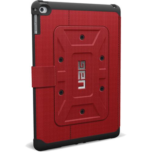 Чехол UAG Folio Case для iPad Air 2 красный MagmaЧехлы для iPad Air<br>Чехлы от UAG спроектированы специально для безупречной защиты портативных гаджетов.<br><br>Цвет товара: Красный<br>Материал: Композитный пластик, силикон