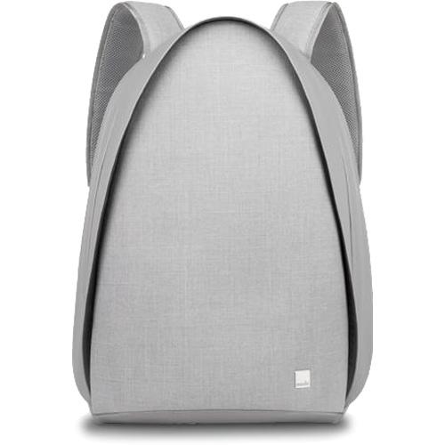 Рюкзак Moshi Tego Backpack для MacBook 15 серыйРюкзаки<br><br><br>Цвет товара: Серый<br>Материал: Влагоотталкивающая ткань, цинковый сплав (фурнитура), микрофибра