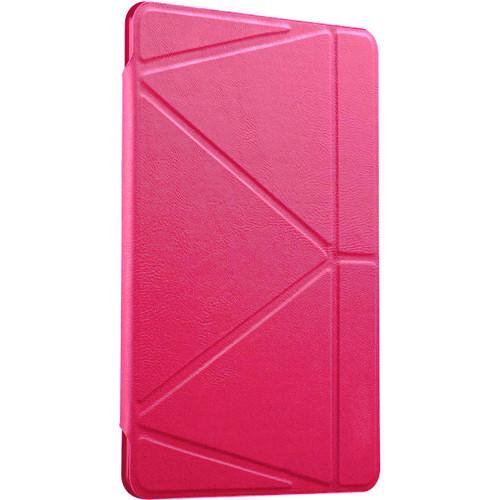 Чехол Gurdini Flip Cover для iPad Air 2 малиновыйЧехлы для iPad Air<br>Чехол Gurdini Flip Cover для iPad Air 2 выполнен в тонком, изящном дизайне, который буквально притягивает к себе внимание.<br><br>Цвет товара: Розовый<br>Материал: Полиуретановая кожа