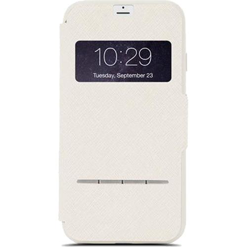 Чехол Moshi SenseCover для iPhone 7 Plus бежевыйЧехлы для iPhone 7 Plus<br>Чехол Moshi SenseCover для iPhone 7 Plus бежевый<br><br>Цвет товара: Бежевый<br>Материал: Поликарбонат, полиуретановая кожа