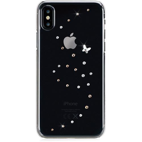 Чехол Bling My Things Papillon Case для iPhone X (Angel Tears)Чехлы для iPhone X<br>Самый смелый и экстравагантный чехол с кристаллами Swarovski станет для вас безупречным аксессуаром, с которым вы сделаете мир еще ярче!<br><br>Цвет товара: Прозрачный<br>Материал: Кристаллы Swarovski, термопластичный полиуретан, поликарбонат
