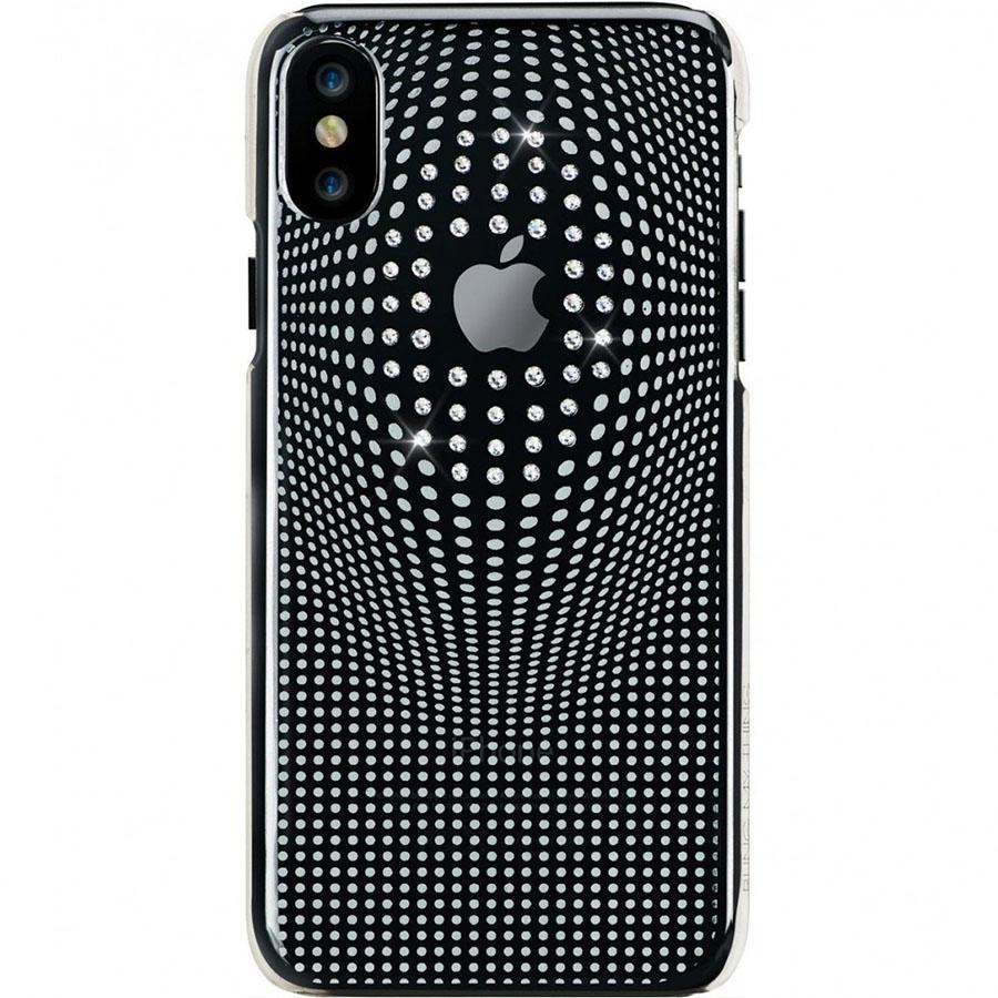 Чехол Bling My Thing Warp Deluxe Collection для iPhone X серебристыйЧехлы для iPhone X<br>Bling My Thing Warp Deluxe Collection сделает ваш смартфон ещё ярче!<br><br>Цвет товара: Серебристый<br>Материал: Поликарбонат, кристаллы Swarovski
