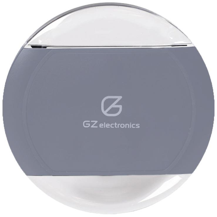Беспроводное зарядное устройство GZ Electronics (GZ-C3) сероеСетевые и беспроводные зарядки<br>GZ Electronics поддерживает зарядку на всех 360 градусах своей окружности.<br><br>Цвет: Серый<br>Материал: Пластик